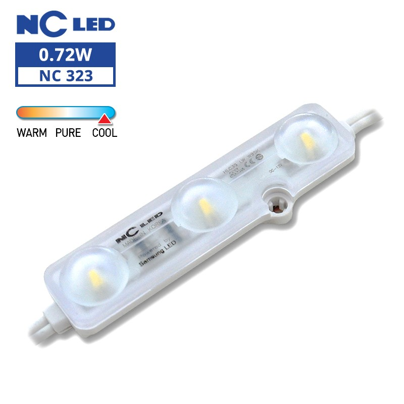 NC HLC3S LW 0.72W 12V W95K Wide beam angle (50 modules / unit)
