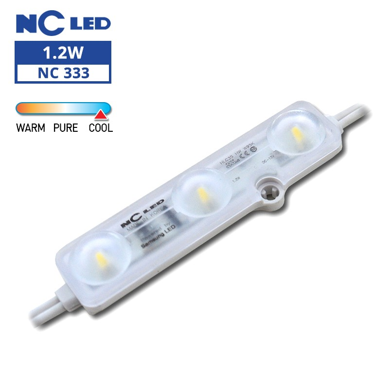 NC HLC3S HW 1.2W 12V W95K Wide beam angle (50 modules / unit)