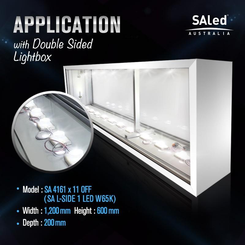 SA L-SIDE 1LED W65K 2.5W Modules (10 modules / unit) G2