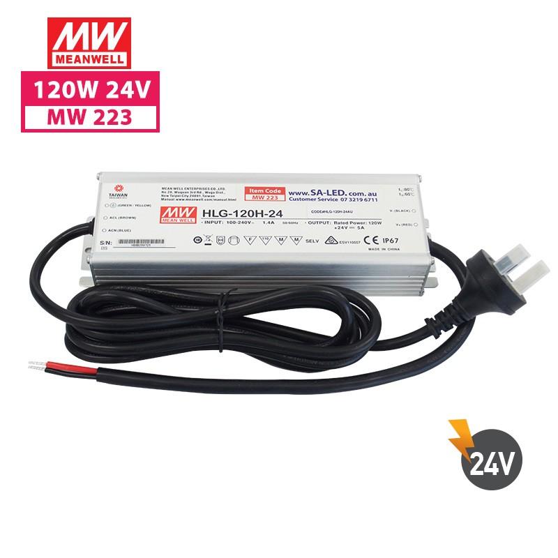 SA HLG 120H 5A 24V with 3 pin plug