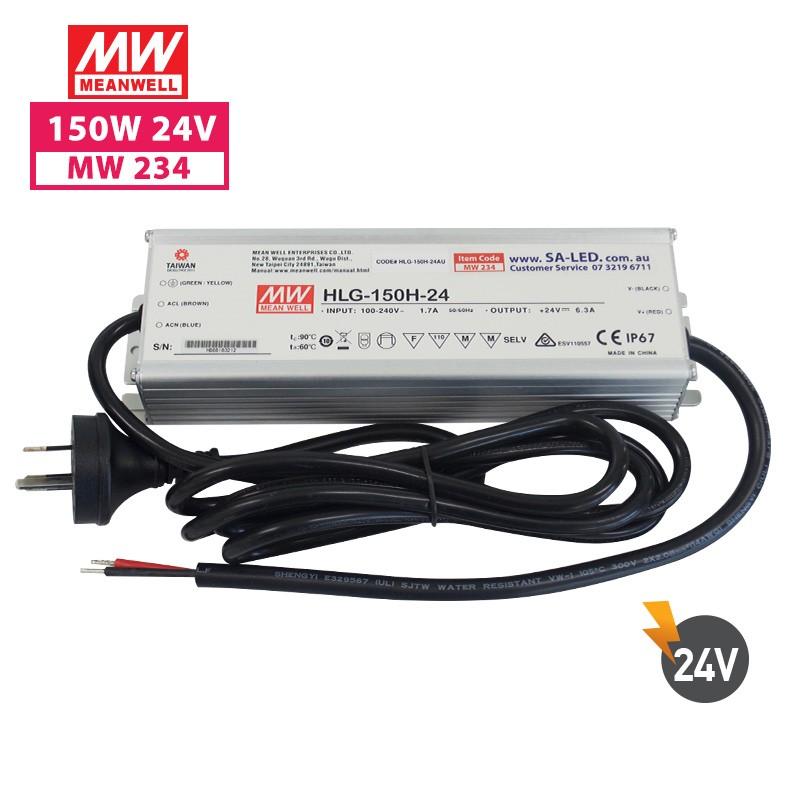 SA HLG 150H 6.3A 24V with 3 pin plug