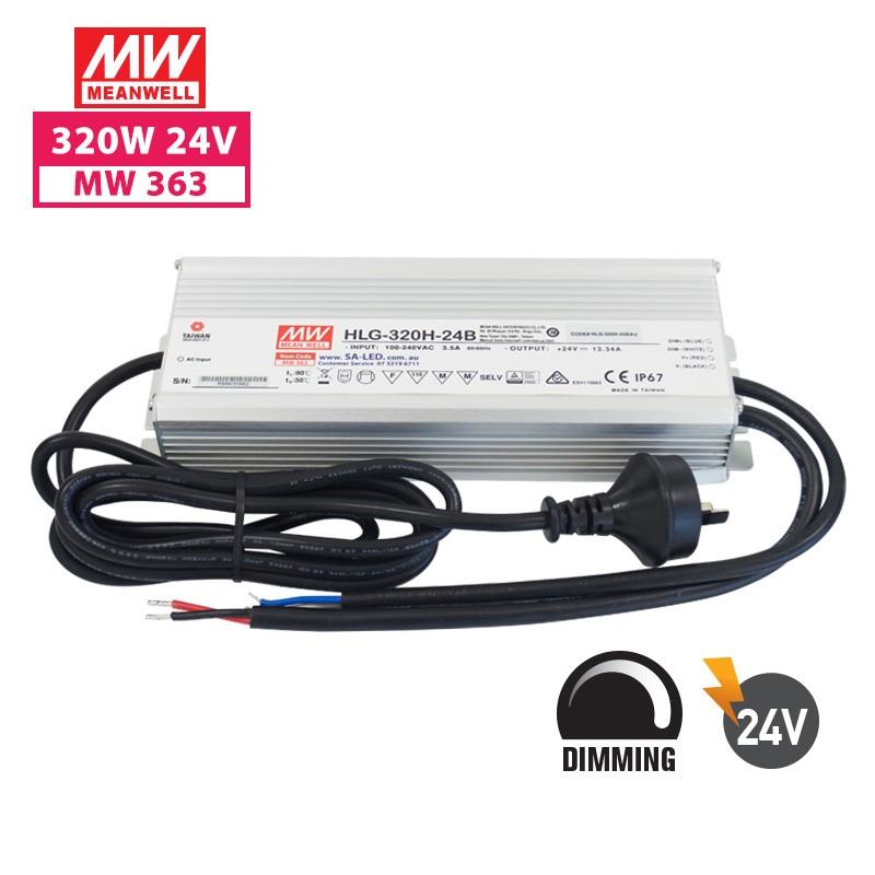SA HLG 320H 13.3A 24V with 3 pin plug(Dimming)