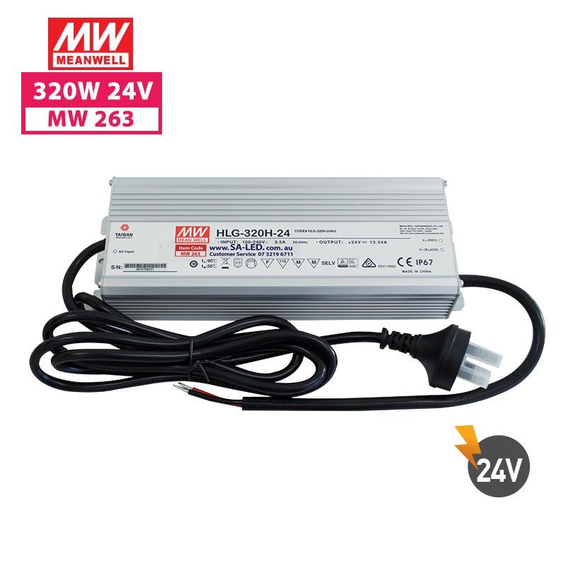SA HLG 320H 13.3A 24V with 3 pin plug