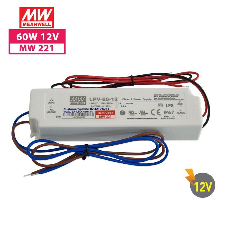 SA LPV 60 5A 12V without 3 pin plug
