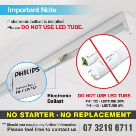 SA LED PHILIPS COREPRO LEDTUBE 8.8W 6500K (10 Tubes/unit)_600MM
