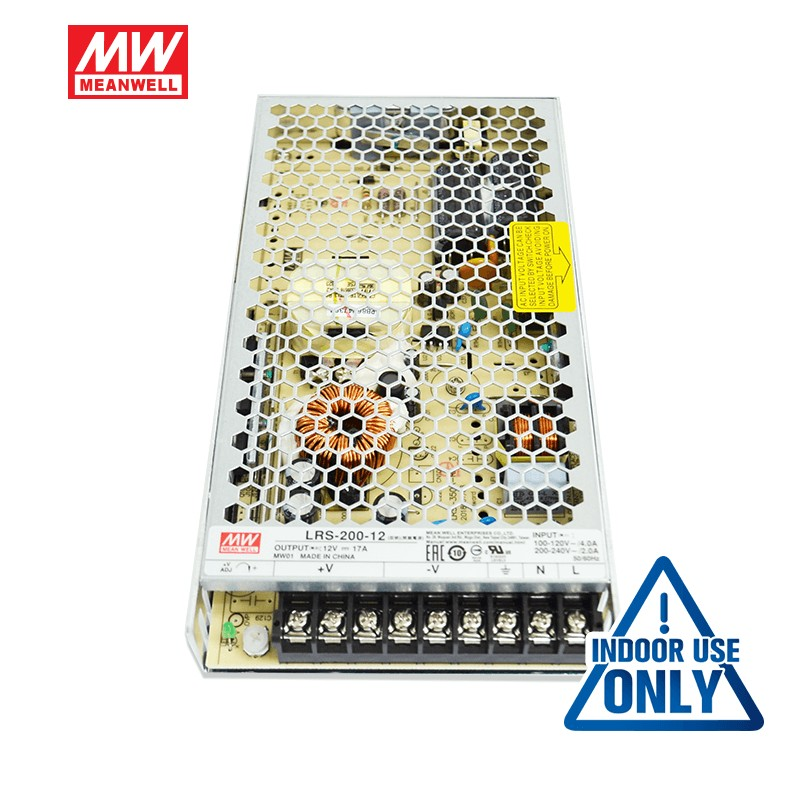SA LRS 200 17A 12V without 3 pin plug