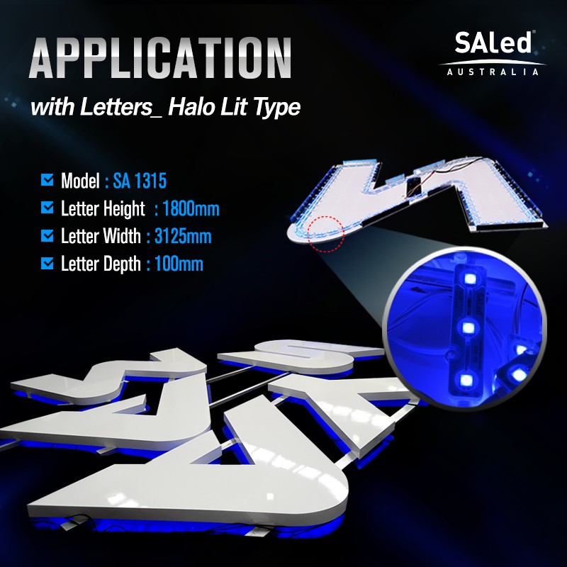 SA HLC3S BLUE 3 LED Modules ($1.20/ea, 50 modules / unit)